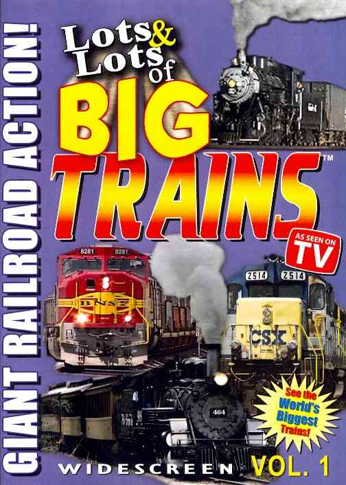 LOTS AND LOTS OF BIG TRAINS VOL 1 BY LOTS AND LOTS (DVD)